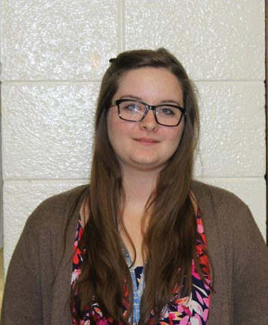 Mrs. LeVake started this year as a new English teacher.