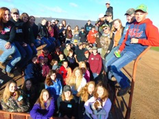 FFA Goes to Fust Farm