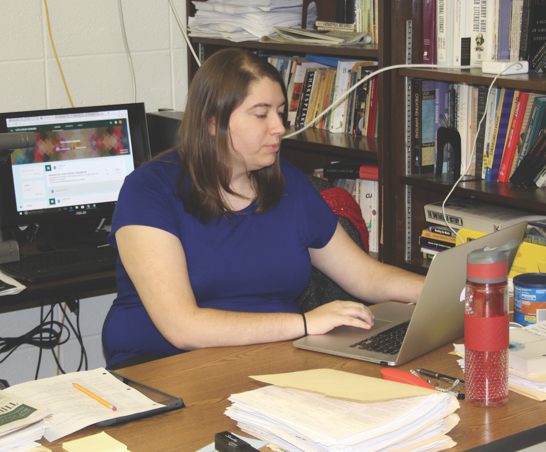Ms. Tenor is dedicated to her work and education.
