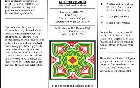 DCE Hmong Heritage Celebration on April 8