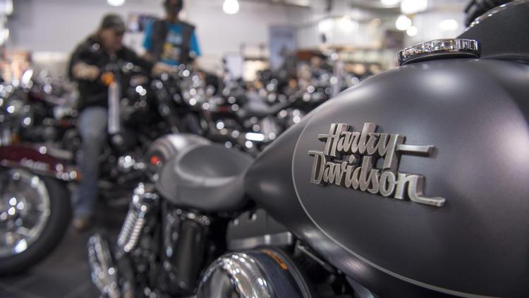 Harley-Davidson interns gets a free motorcycle