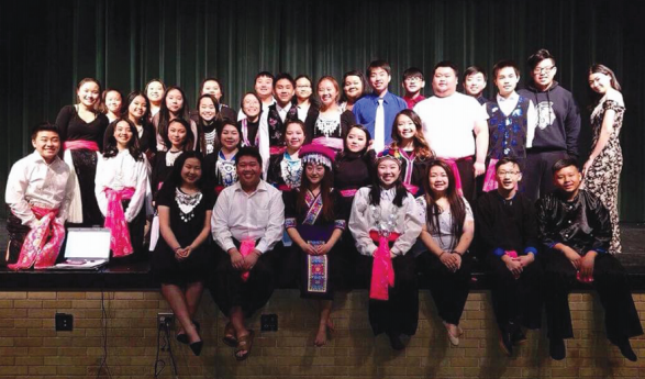 Youth Leadership Alliance performs for Hmong Heritage Month