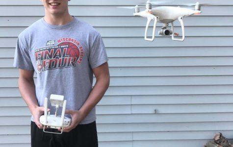 Senior Student Drone Pilot