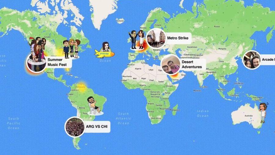 Where's Waldo? Snap Map