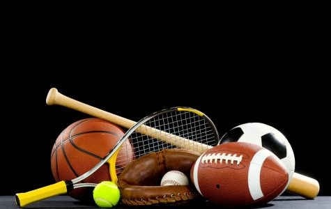 Doling Out  Sports Equipment