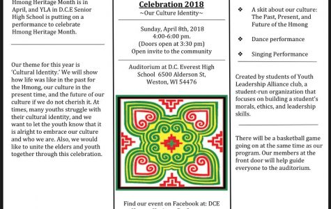 DCE Hmong Heritage Celebration on April 8
