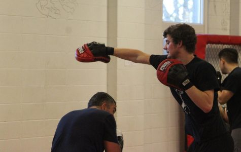 Dylan Rutzen: boxing with school and work