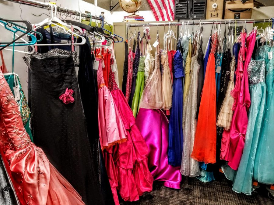 Prom dress sale helps curb costs