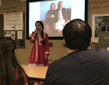 Speakers shares experience building schools for girls in Afghanistan